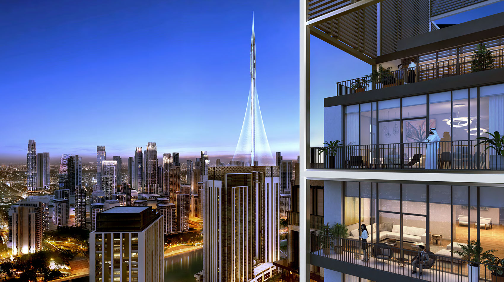 Creek Edge Apartments by Emaar